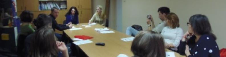 Младежите от няколко европейски държави бяха на гости на ФГУ